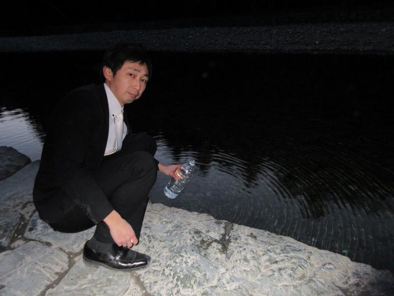 伊勢神宮の神水
